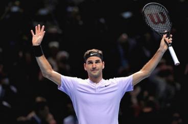 Федерер прв полуфиналист во завршниот АТП Мастерс во Лондон