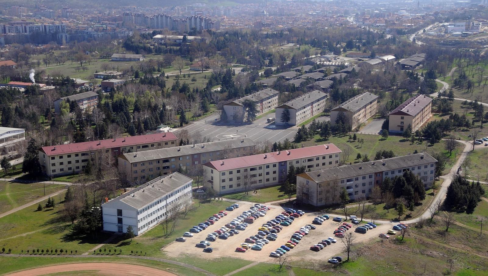 Приведен шпион од Косово  правел скици за касарната Илинден