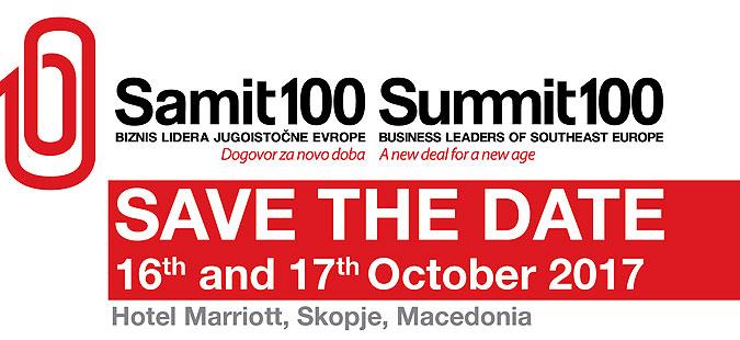 Премиерот Заев ќе учествува на  Самит 100   Бизнис лидерите на ЈИЕ