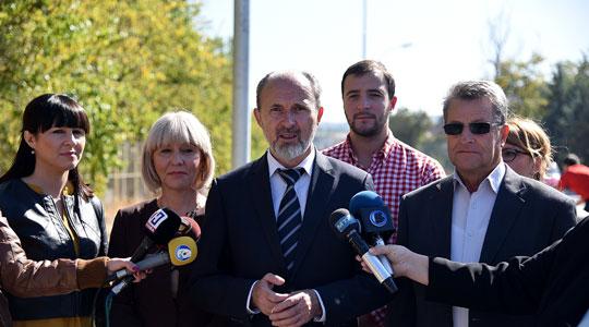 Трајановски најави продолжување на булеварот  Борис Трајковски  до Драчево и нов кружен тек