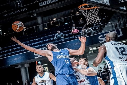 Карпош Соколи поразен од Солнок во првиот меч од ФИБА Еврокупот