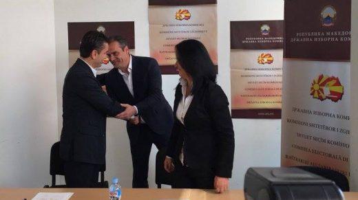 Коневски му ја честиташе победата на Златко Марин и му посака успешна градоначалничка кариера