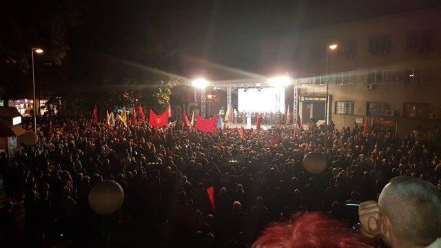 Победничка атмосфера во Велес  Голема поддршка на кандидатот за градоначалникот Чадиев од ВМРО ДПМНЕ
