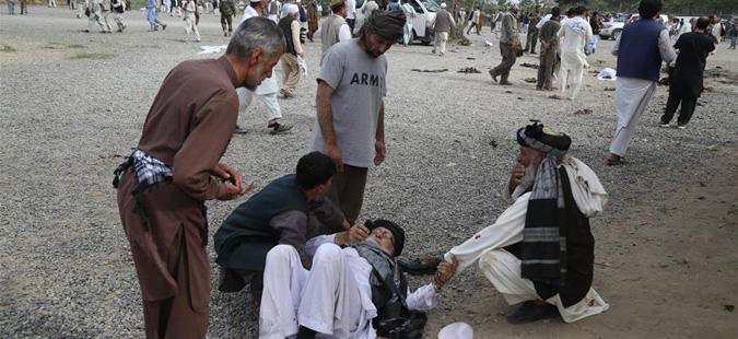 Тројца загинати во самоубиствен напад пред стадион за крикет во Кабул