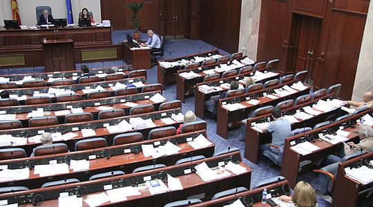 Собранието ја продолжи дебатата за законот за употреба на јазиците