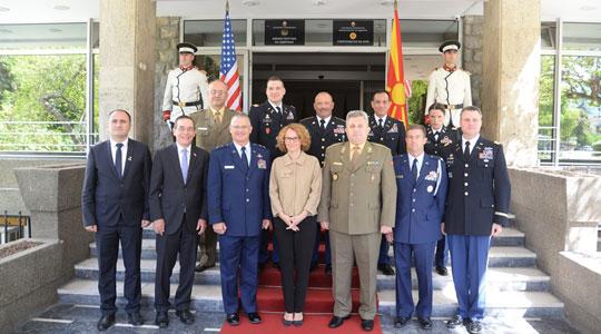 Шекеринска Креј  Македонија членка на НАТО е заедничка цел