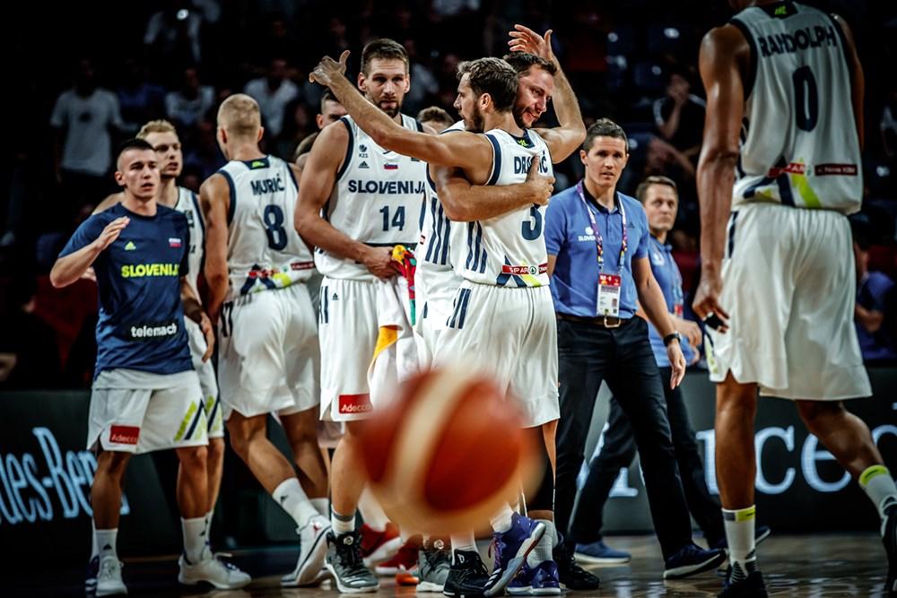 Евробаскет  Словенија се избори за ново полуфинале