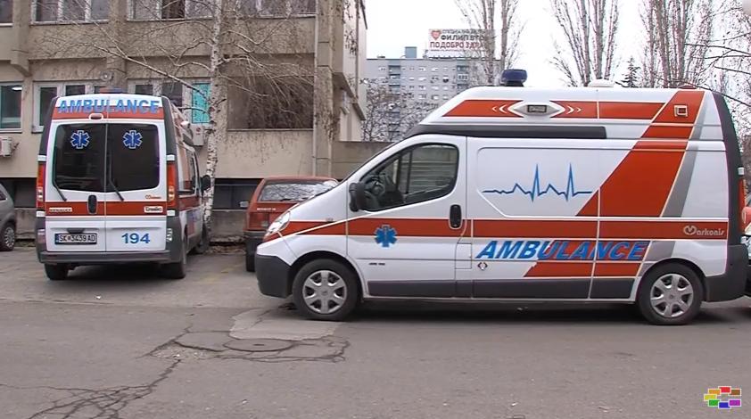 Се превртел и излетал од патот   страотна сообраќајка на регионалниот пат Скопје   Катланово
