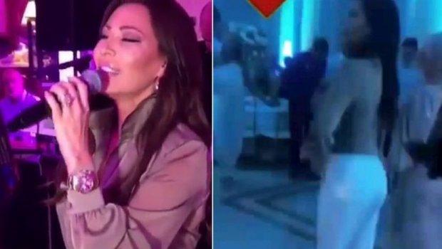 Погледнете каков хаос настана кога Цеца запеа и замеша на свадбата на ќерката на Владан  нејзината прва љубов