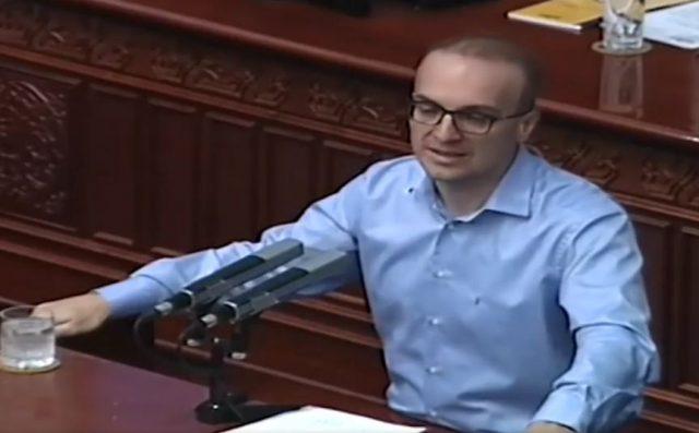 Милошоски  Со истрајност и правни аргументи  пратениците на ВМРО ДПМНЕ оневозможија гласање на неуставниот Закон за јазици
