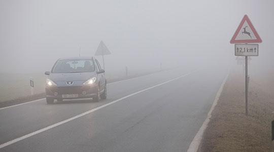 Намалена видливост поради магла во Крушево и на Стража