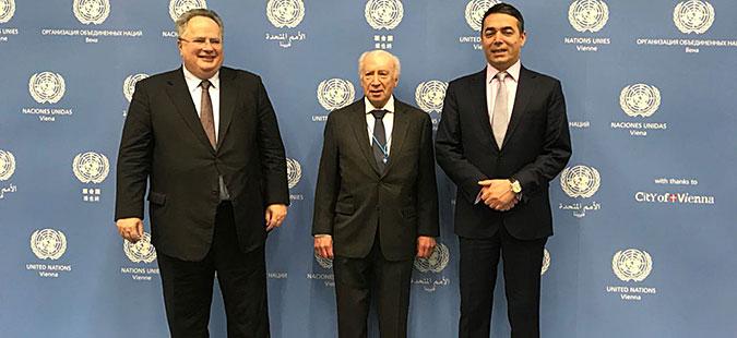 Во Виена почна состанокот на Димитров и Коѕијас со Нимиц