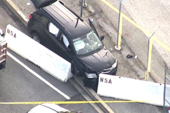 Неколкумина повредени при обид возило да влезе во седиштето на НСА