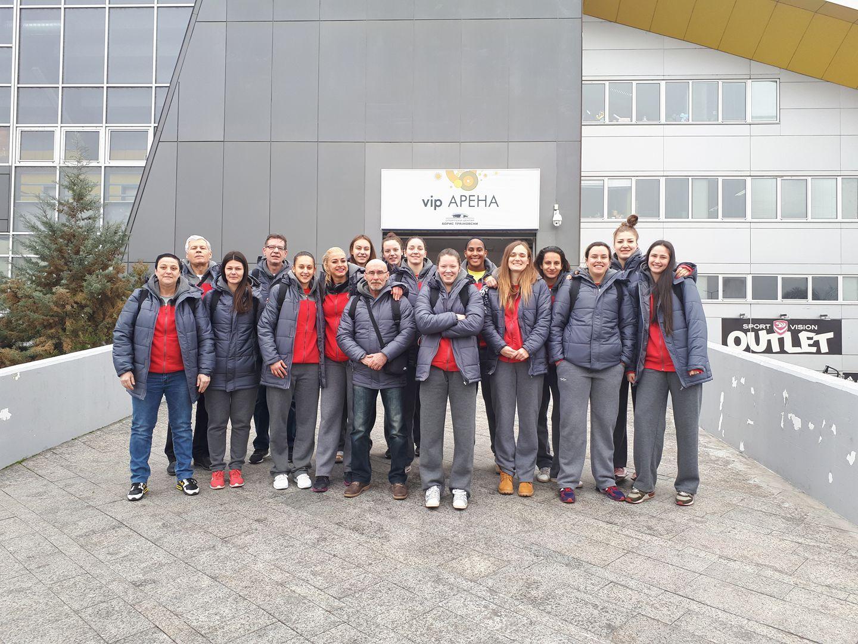 Македонските кошаркарки отпатуваа за Италија