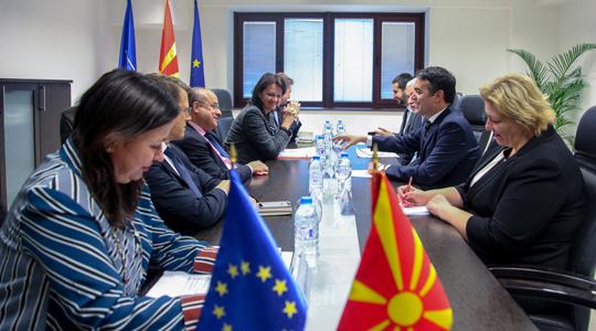 Средба на Димитров со заменик генералниот секретар на Службата за надворешни работи на ЕУ