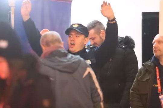 Полицаец танцуваше среде Загреб и стана хит на социјалните мрежи