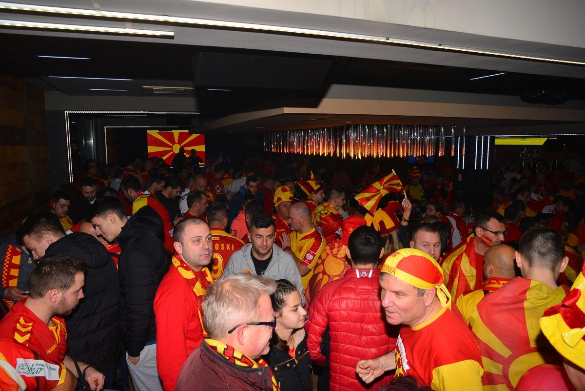 ЕП   Хрватска 2018  Македонските навивачи се подготвуваат за вечерашниот дуел
