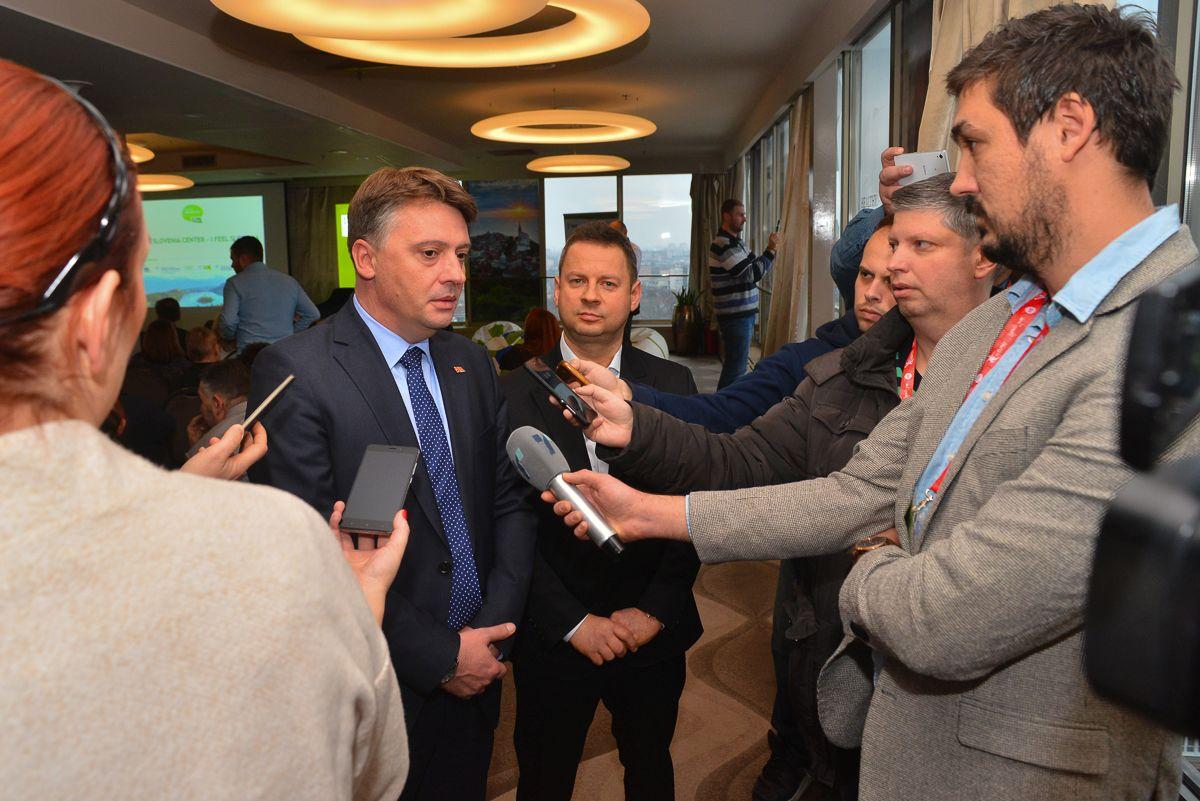 ЕП   Хрватска 2018  Шилегов  Скопје ги има сите потребни капацитети