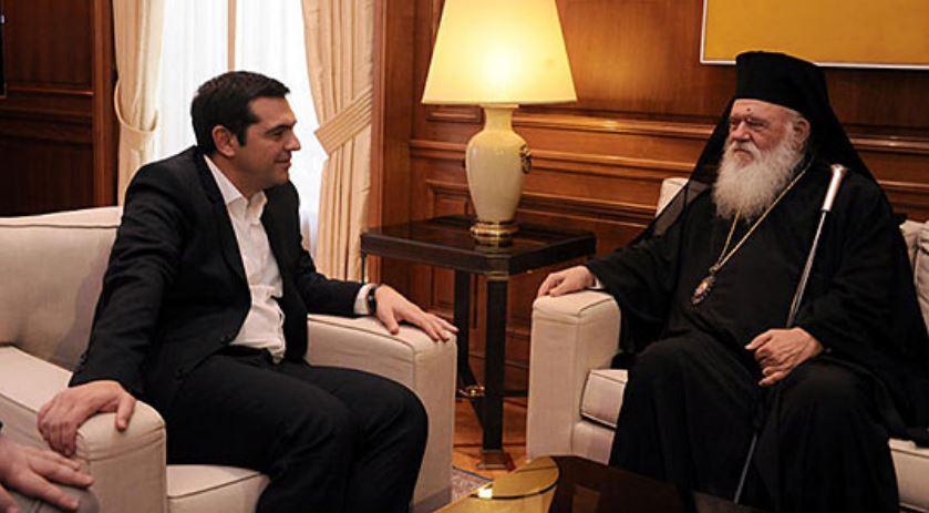 Ципрас му одговори на архиепископот на ГПЦ за Македонија