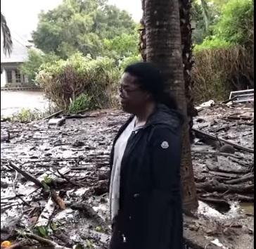 Опра во кал до колена  го загуби луксузниот дом во поплава