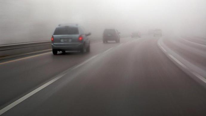 Магла на патиштата кај Тетово  Гостивар и Маврово