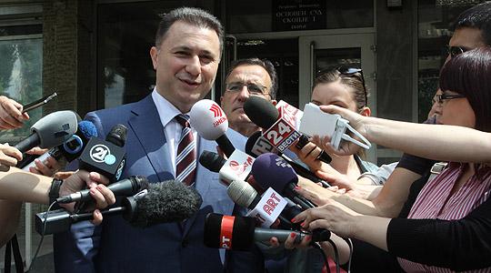 Груевски без оценка за работата на Мицковски  вели дека треба да му се остави време