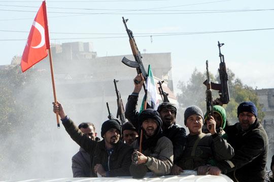 Курди  Подтовуваме герилска војна против турските сили во Африн