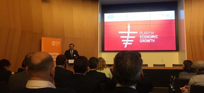 Мерките од Планот за економски раст претставени пред белгиските бизнисмени во Антверпен