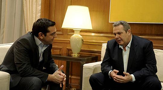 Ципрас и Каменос разговарале и за прашањето за името