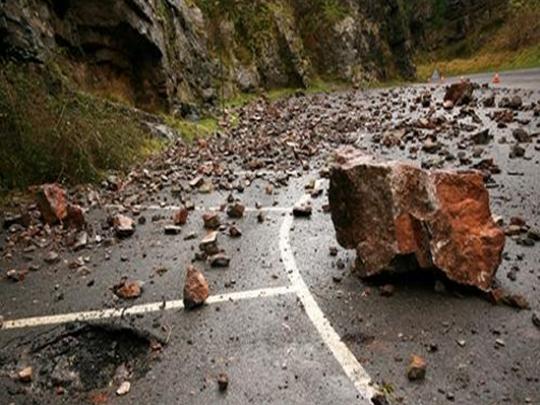 Во прекин сообраќајот на патот Велес   Градско  еве зошто