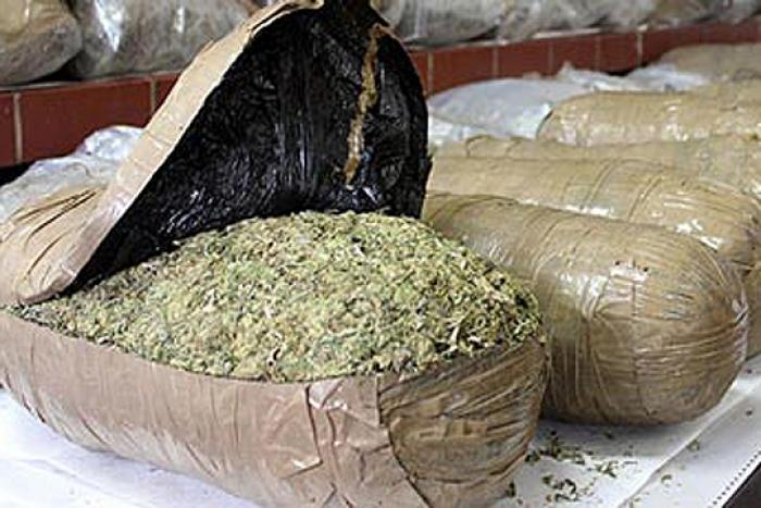 Полицијата разби шверцерска нарко група која од Албанија во Македонија успеала да внесе 40 тони марихуана   Сител