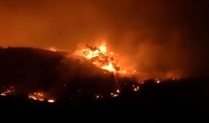 Pожарот кај Kондово целосно ставен под контрола EВН ја врати електричната енергија во селото