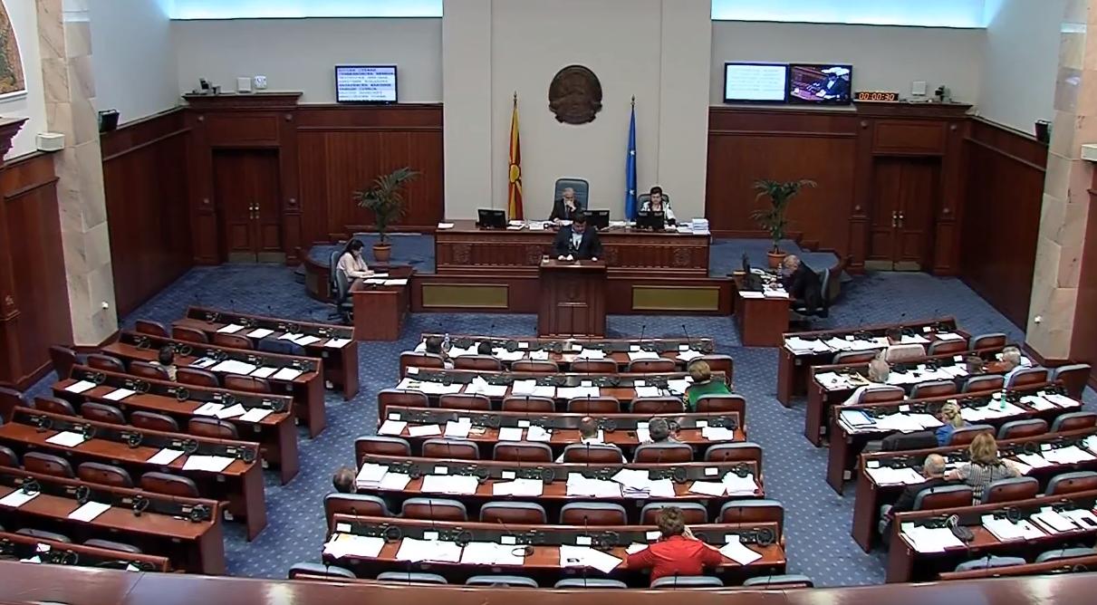Собрание  Шест дена расправа за разрешување на Зврлевски  ВМРО ДПМНЕ поднесе интерпелација за Алаѓозовски