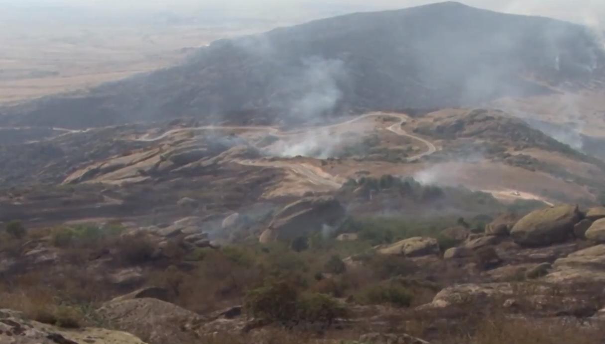 Трескавец под 24 часовен надзор  огнот се шири кон Горно село