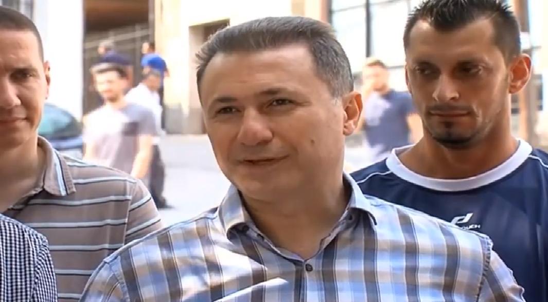 Груевски  Пензиите не се зголемуваат  туку само се усогласуваат   Намалена економската активност