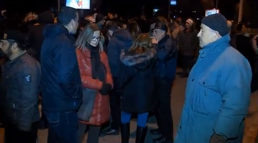 Протести на ВМРО ДПМНЕ пред судот