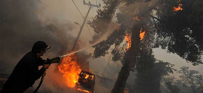 Продолжува борбата со пожарите во Хрватска  Црна Гора и БиХ