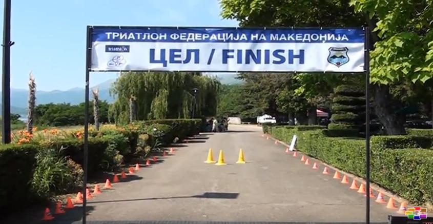 """Во Ресен се одржа Националното првенство """"Триатлон – Преспа 2017"""""""