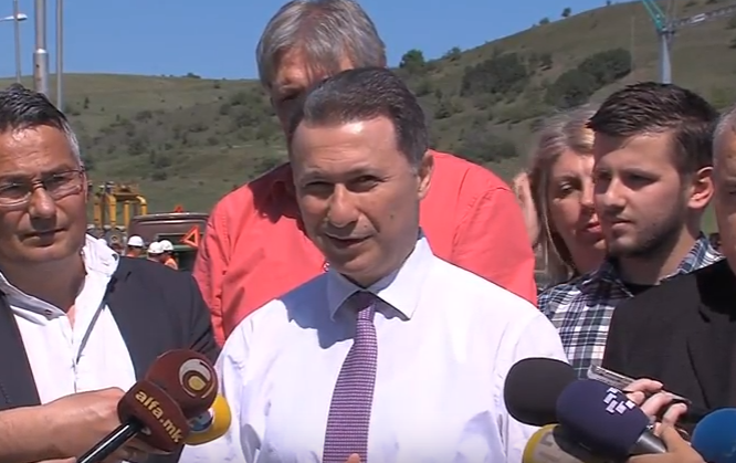 Груевски  Во патната инфраструктура вкупно се инвестирани над 800 милиони евра
