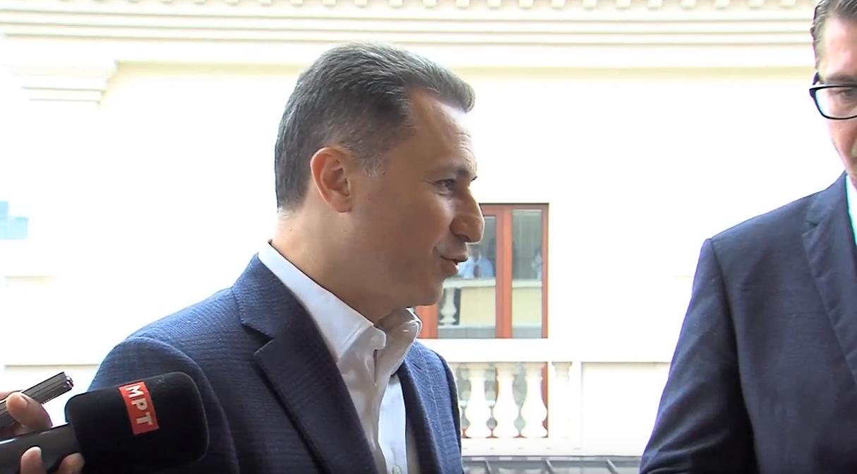 Груевски  Некои партии во служба на СДСМ може ќе станат дел од новата влада