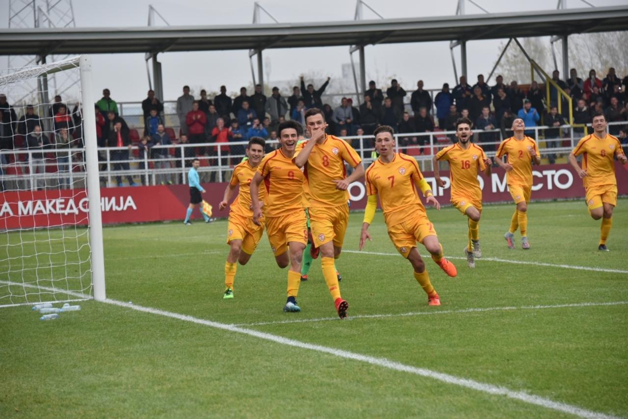 Фудбал У 19  Македонските јунори го  торпедира  Лихтенштајн со 6 0