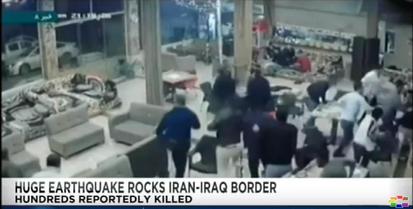 Над 300 мртви и над 6 000 повредени лица во катастрофалниот земјотрес во пограничниот регион на Иран со Ирак