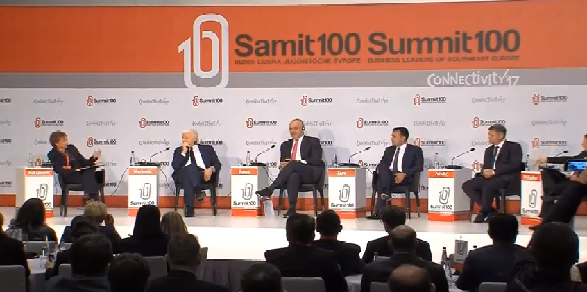 Самит 100  Компаниите од регионот ќе имаат успех на глобалниот пазар само со заеднички настап