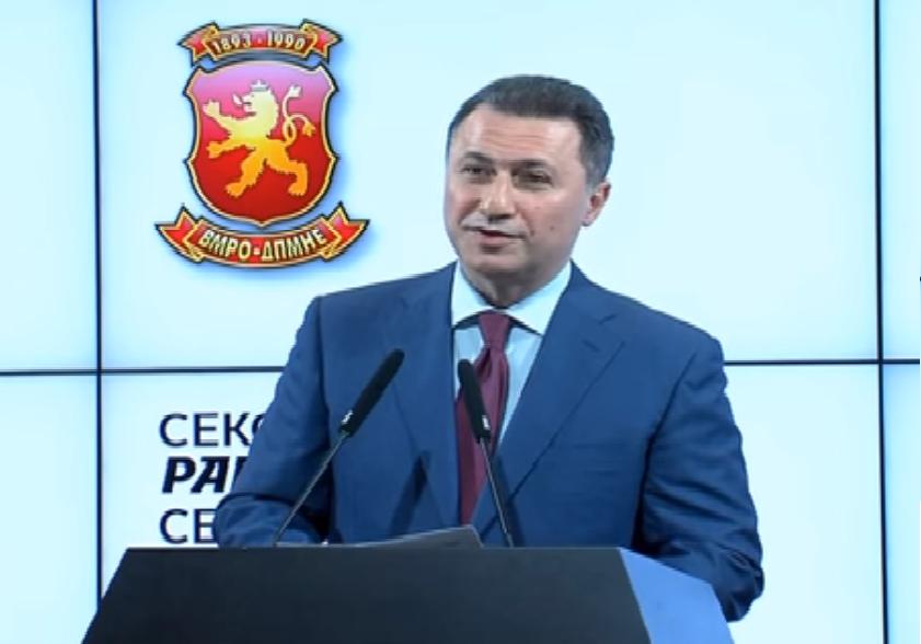 Груевски  По изборите ќе се анализираат и нерегуларностите и да видиме што можевме да направиме подобро