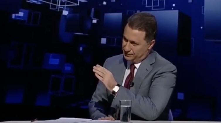 Груевски ја обвини власта за масовно прислушување и изборен фалсификат