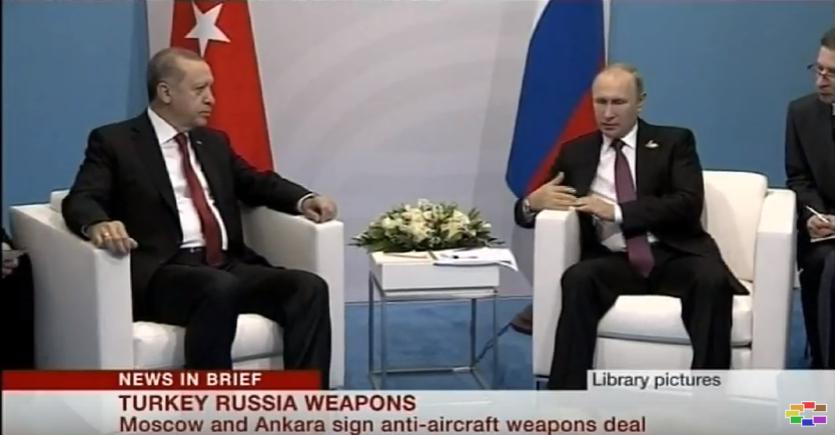 Анкара и Москва го потпишаа договорот за купување на рускиот систем C 400
