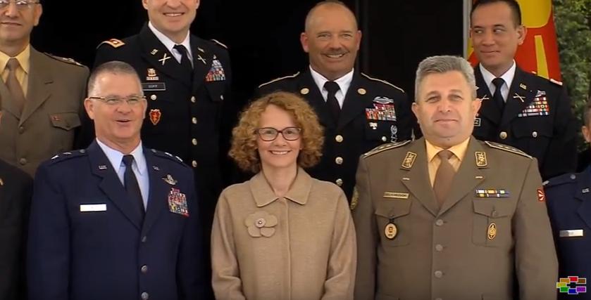 Поддршка од САД за членство во НАТО