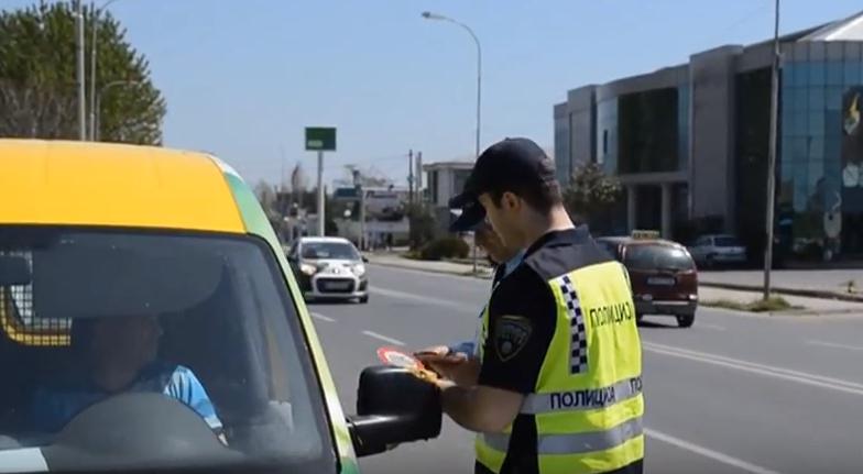 Полицијата во струмичко почна кампања за безбеден сообраќај во лето