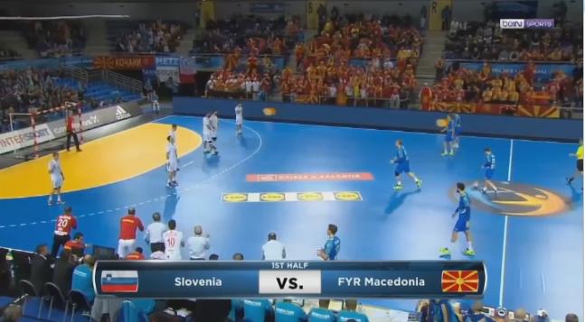Македонија Словенија на Европското првенство во ракомет    поддршка од 2 000 македонски навивачи