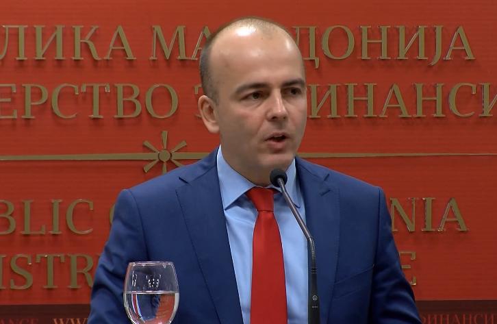 Тевдовски  Издадовме еврообврзница со најниска камата до сега  парите ќе се трошат за буџетски потреби